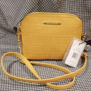 Steve Madden - Mustard Colored Crossbody Bag